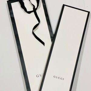 Gucci Men's Silk GG Chain Tie